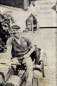 Adolf-Kratzer-mit-Holl Nder-199x300 in Mit dem Holländer zur Olympiade 1972