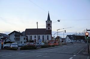 Blick-zur-Kirche-2014-300x199 in Sandweier