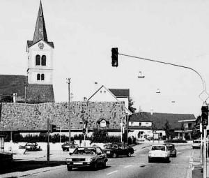 Kreuzung-R Merstr -1981-300x255 in Sandweier