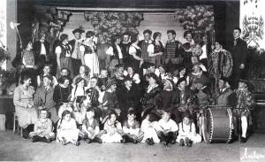 Ensemble-Der-Geiger-von-Gm Nd-etwa-1930-300x183 in Erinnerungen zum Sängerjubiläum 1994