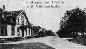 Gasthaus-Blume Sandweier Alt-300x172 in Schankwirtschaften - Gastwirtschaften
