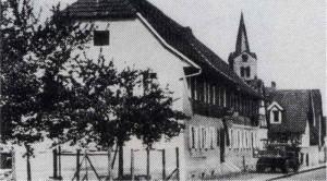 Gasthaus-Hirsch Sandweier Alt-300x166 in Schankwirtschaften - Gastwirtschaften