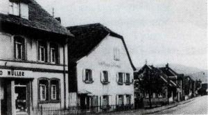 Gasthaus-Krone Sandweier Alt-300x166 in Schankwirtschaften - Gastwirtschaften