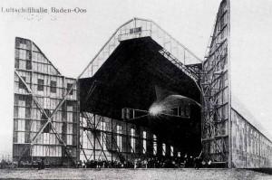 Luftschiffhalle-Oos 1-300x199 in Die Zeit der Luftschiffhalle, eine kleine Zeppelingeschichte